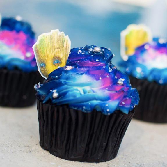 Epcot Groot Cupcake